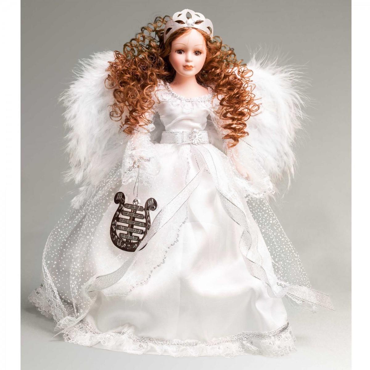 Фарфоровая кукла Ангел 2630, 31 см на peresvet.by