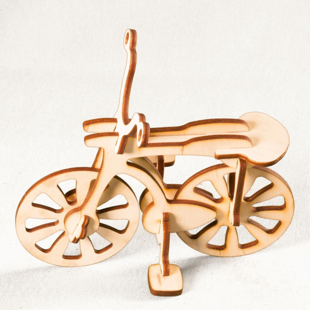 3D конструктор велосипед
