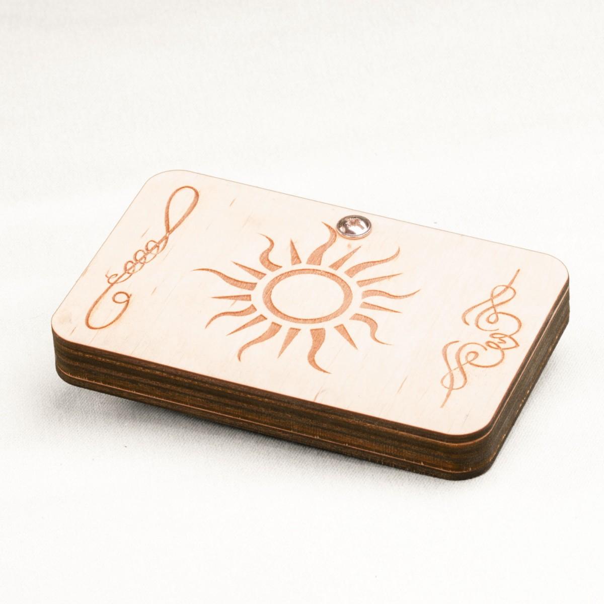 Монетница деревянная на peresvet.by