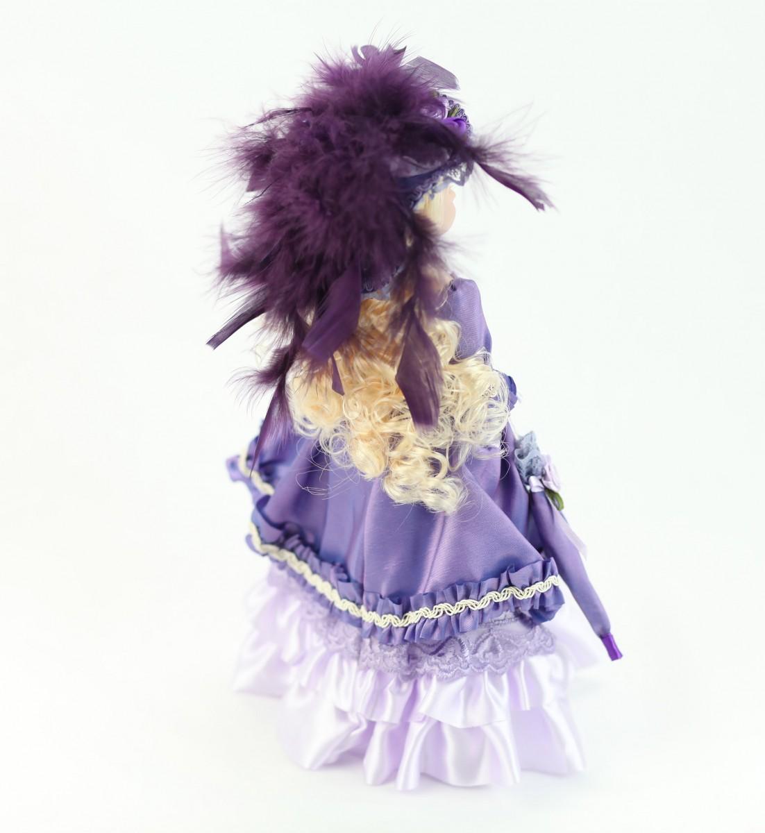 Фарфоровая кукла 1425, 25 см на peresvet.by