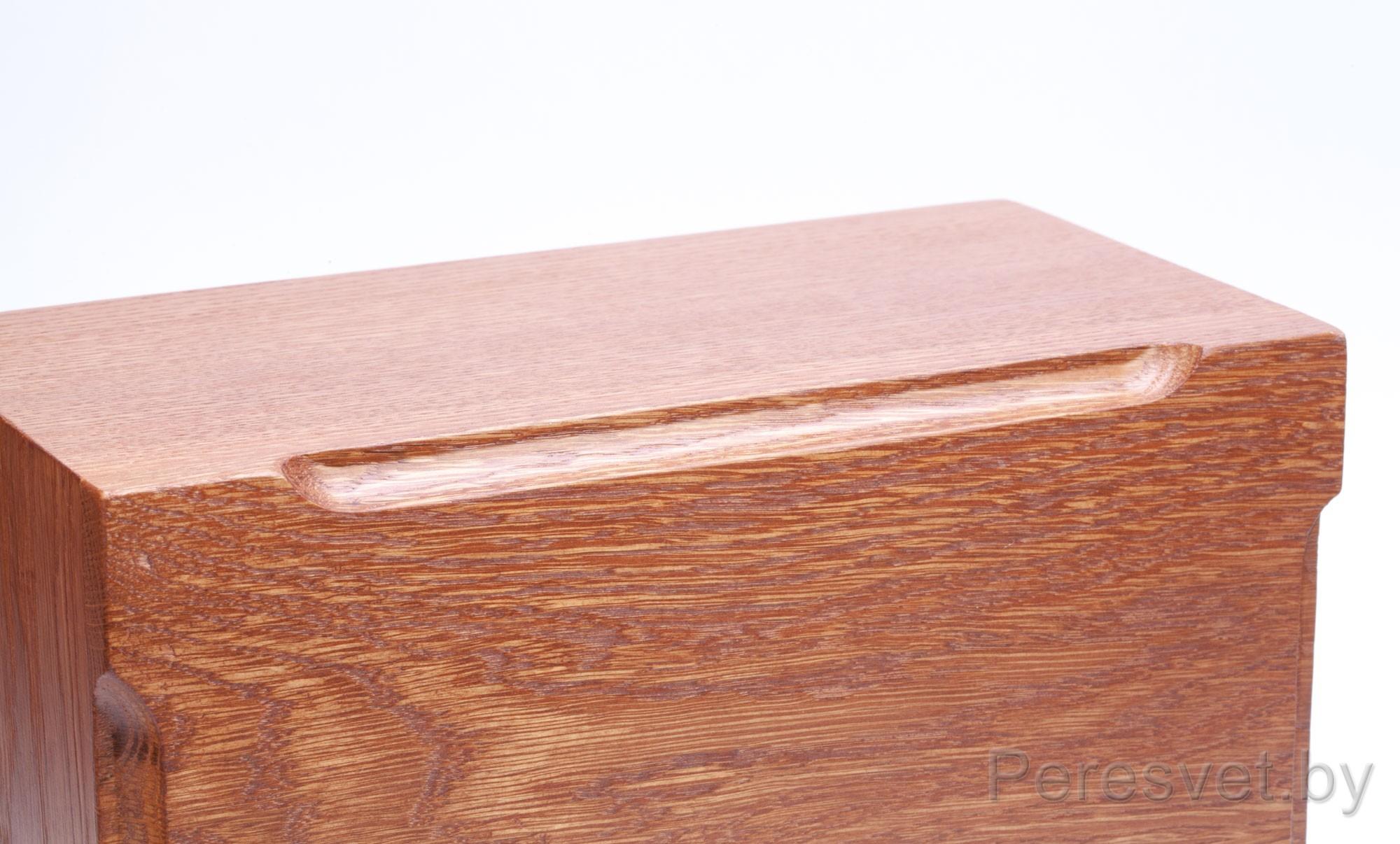 Деревянная коробка Ларец Магната Дуб на peresvet.by
