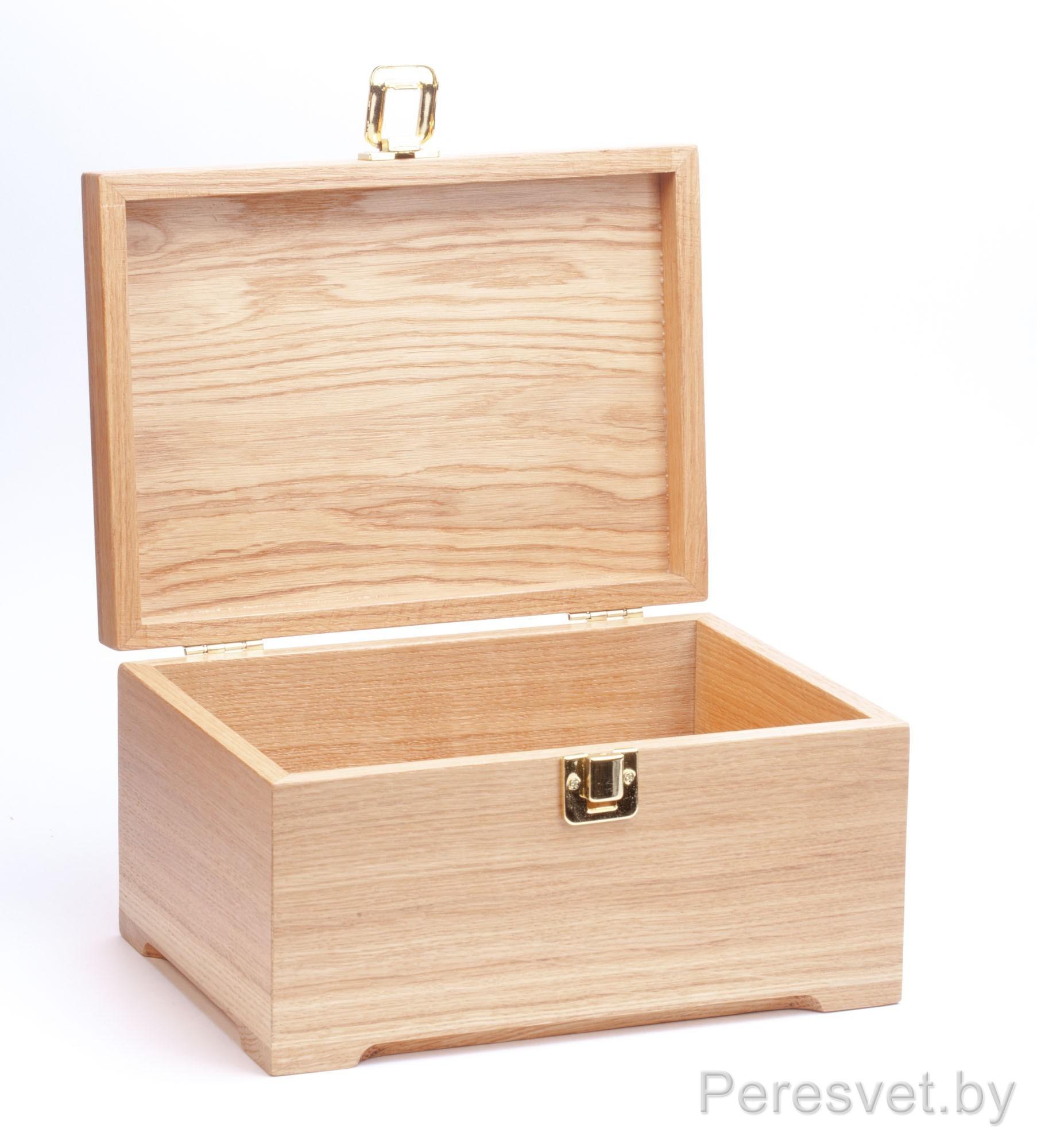 Деревянная упаковка Сундук с сокровищами Дуб на peresvet.by