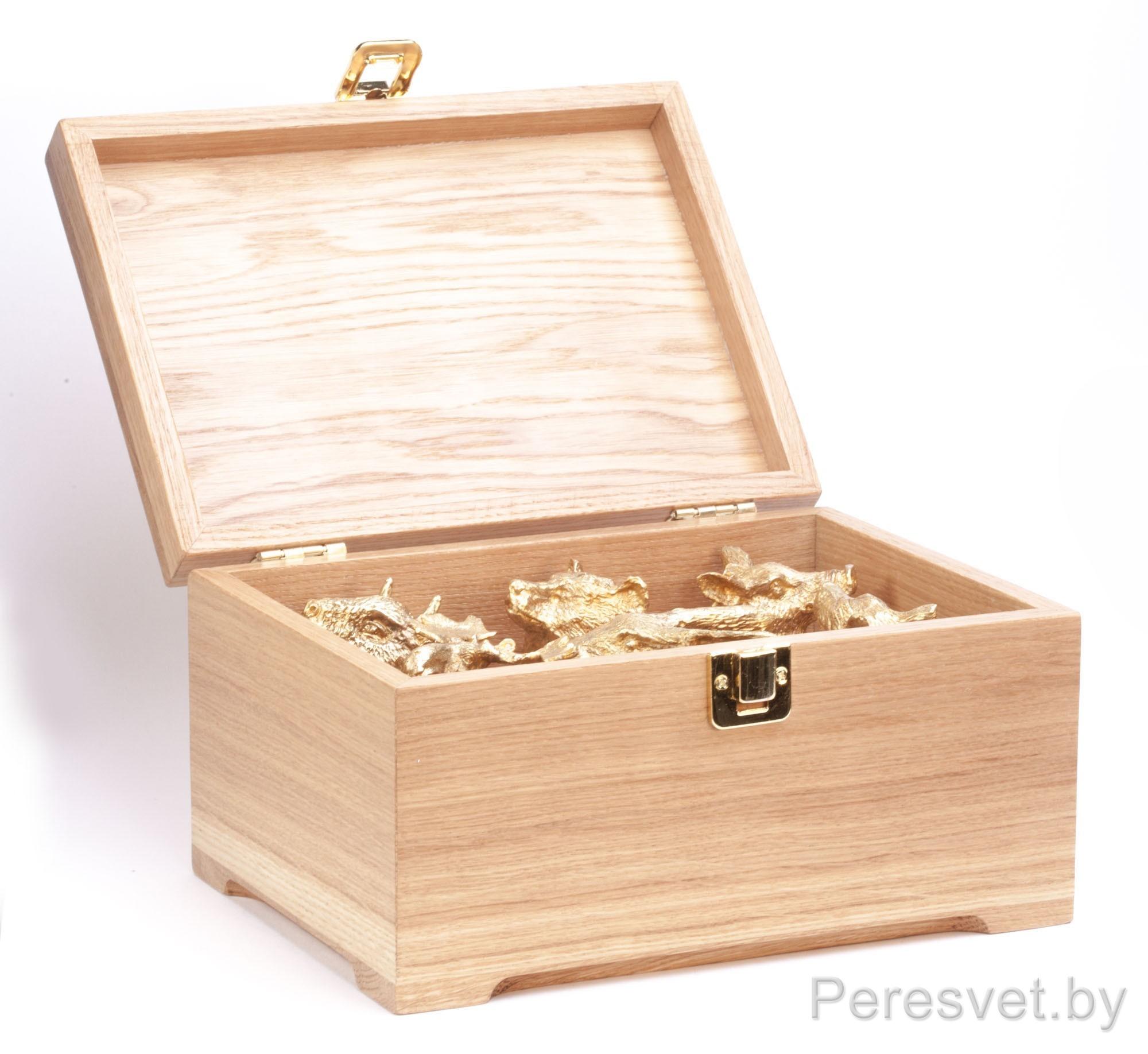 Рюмки перевертыши подарочный набор Охотничьи трофеи дуб №2 Бронза на peresvet.by
