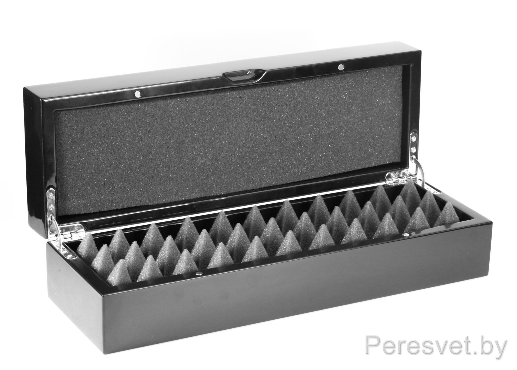 Упаковка подарочная из массива ольхи Петра под лаком с ложементом опт на peresvet.by
