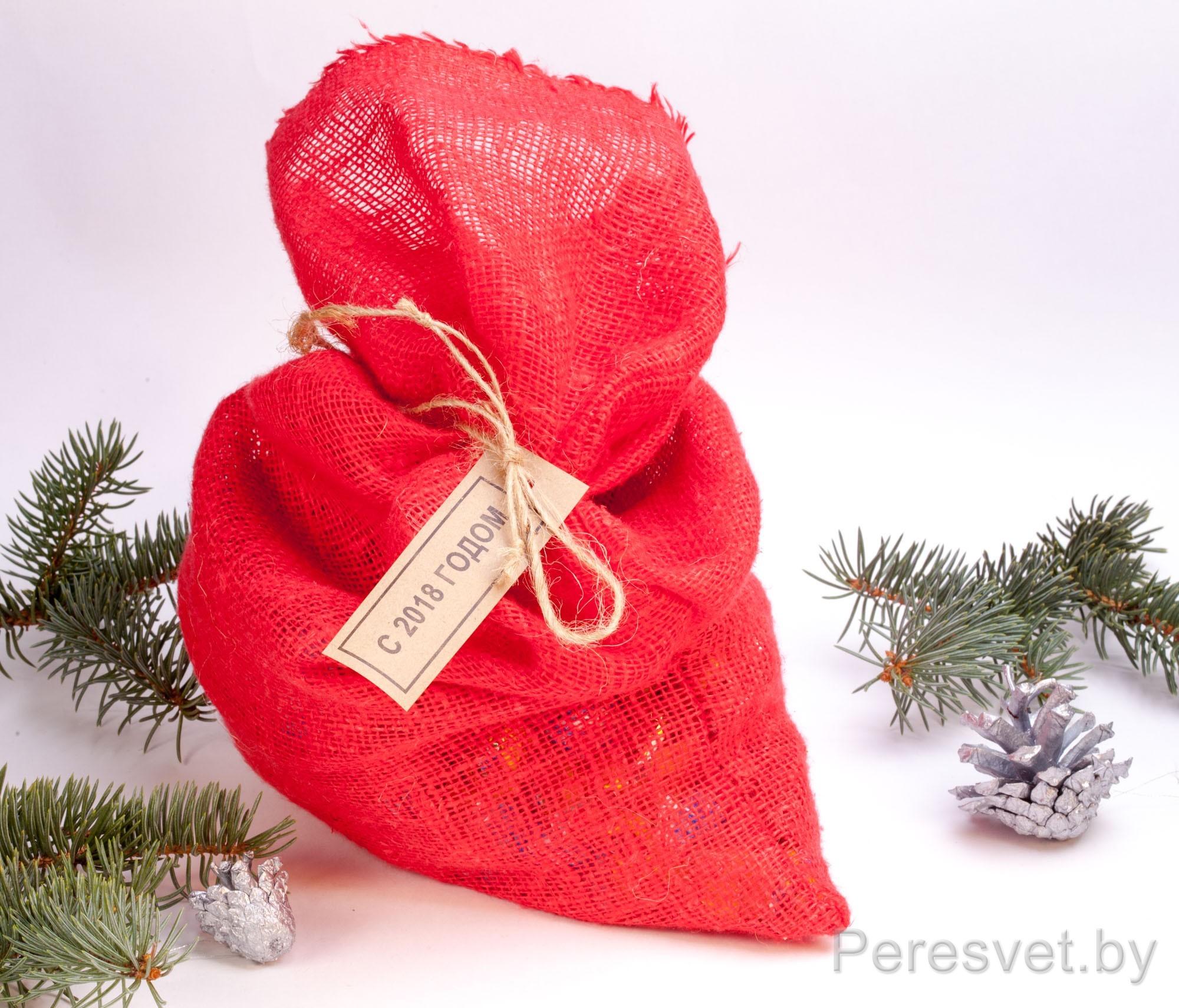Дополнения к набору Подарок снеговика 2020 год Мешочек для конфет на peresvet.by