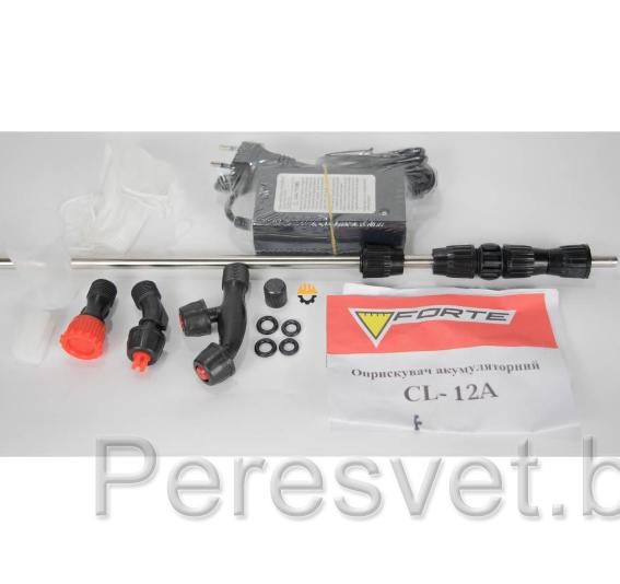 Опрыскиватель ранцевый аккумуляторный 16 л. Forte GL-16A на peresvet.by