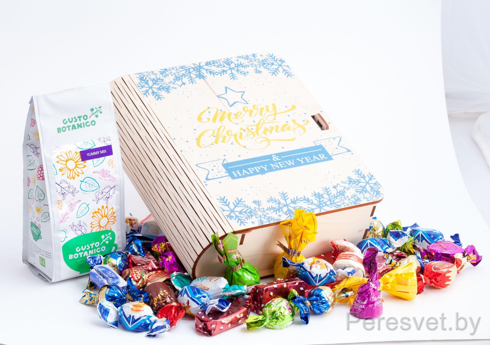 Детский новогодний подарочный набор Merry Christmas на peresvet.by