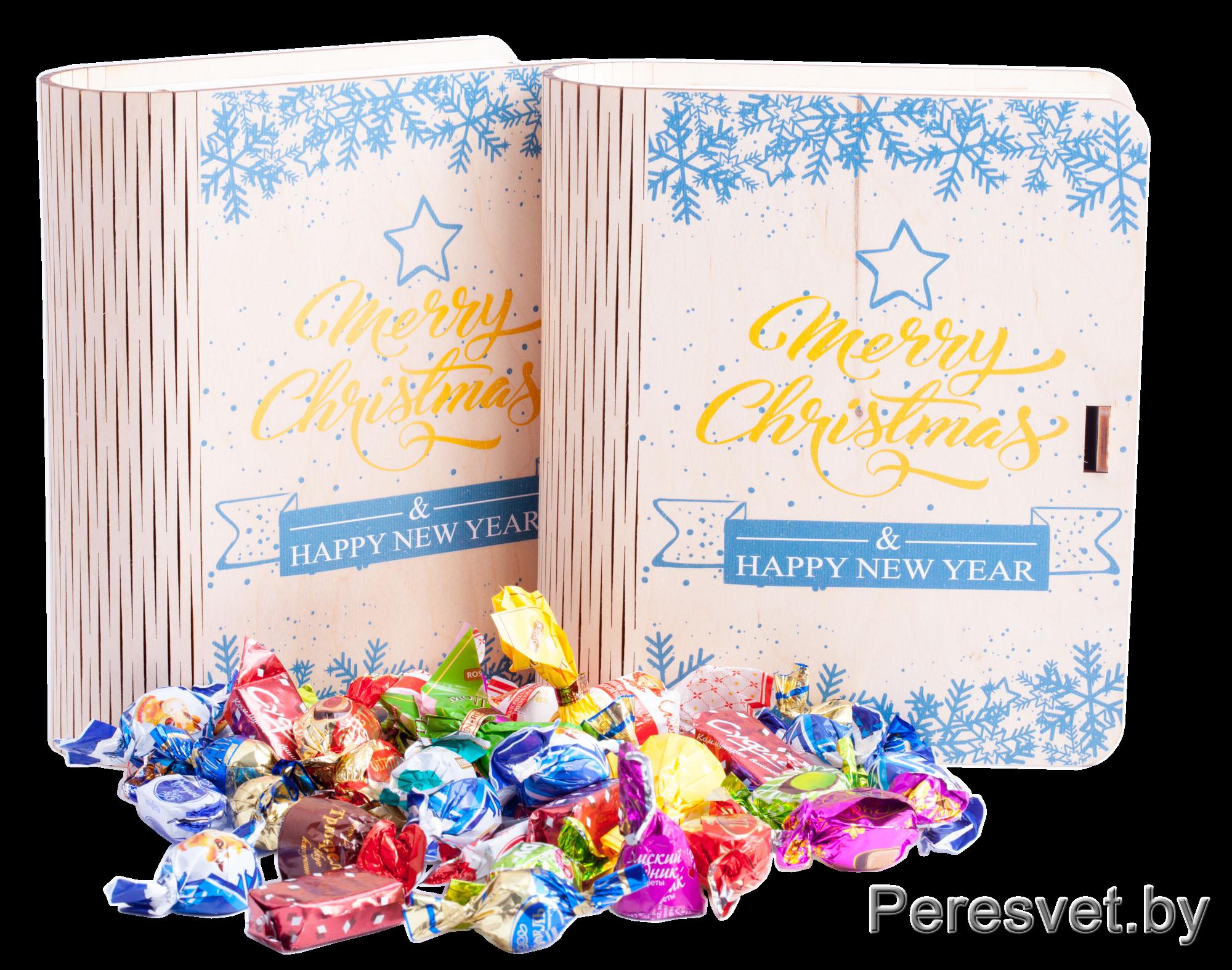 Праздничная упаковка Merry Christmas шоколадное настроение на peresvet.byПраздничная упаковка Merry Christmas шоколадное настроение на peresvet.by