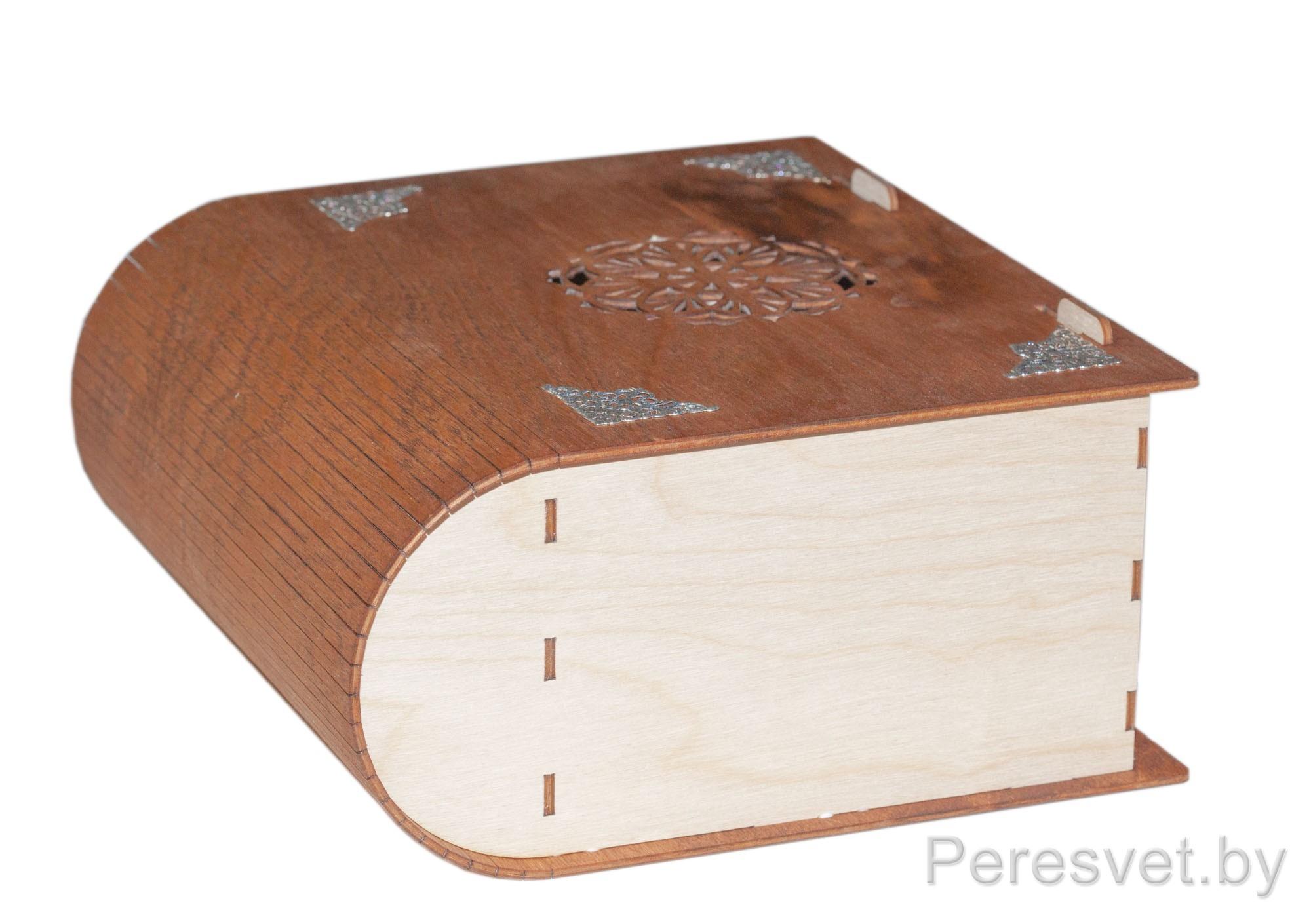 Деревянная упаковка для корпоративных подарков на peresvet.by