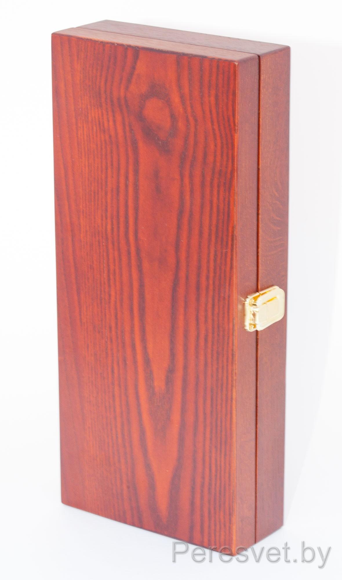 Кейс деревянный массив дуба Элегант для ножа на peresvet.by