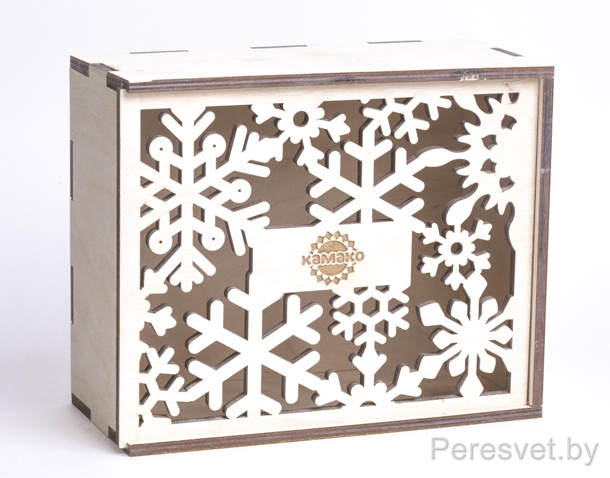 Корпоративный подарок деревянная коробка-пенал на peresvet.by