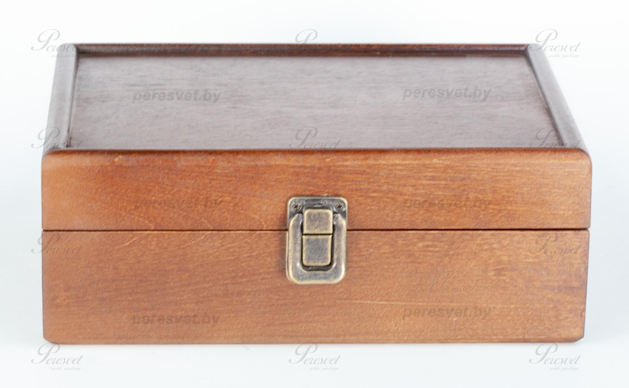 Чайная коробка для пакетиков массив березы стандарт на peresvet.by