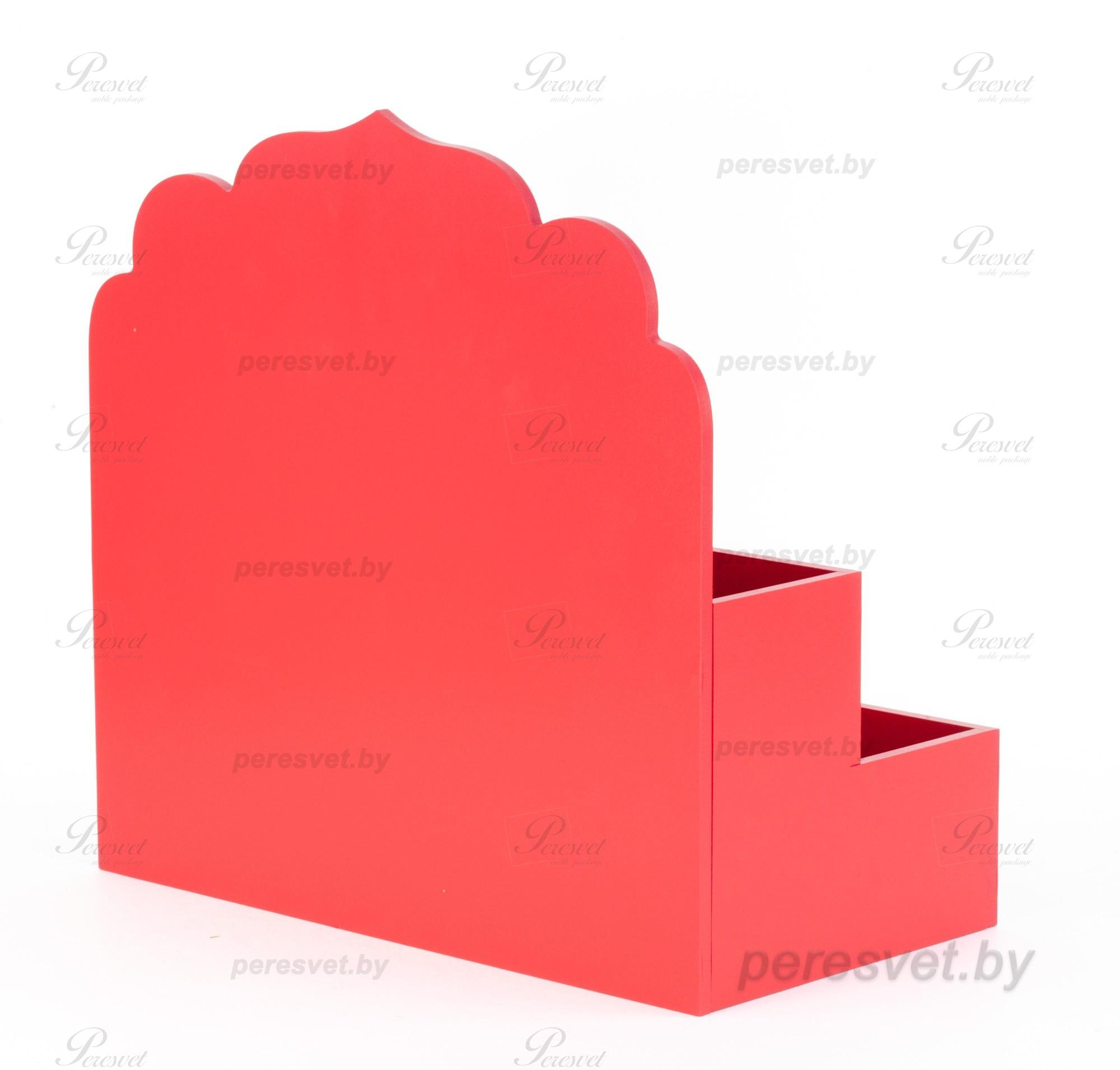 Деревянная коробка для чая Саше с нанесением логотипа на peresvet.by