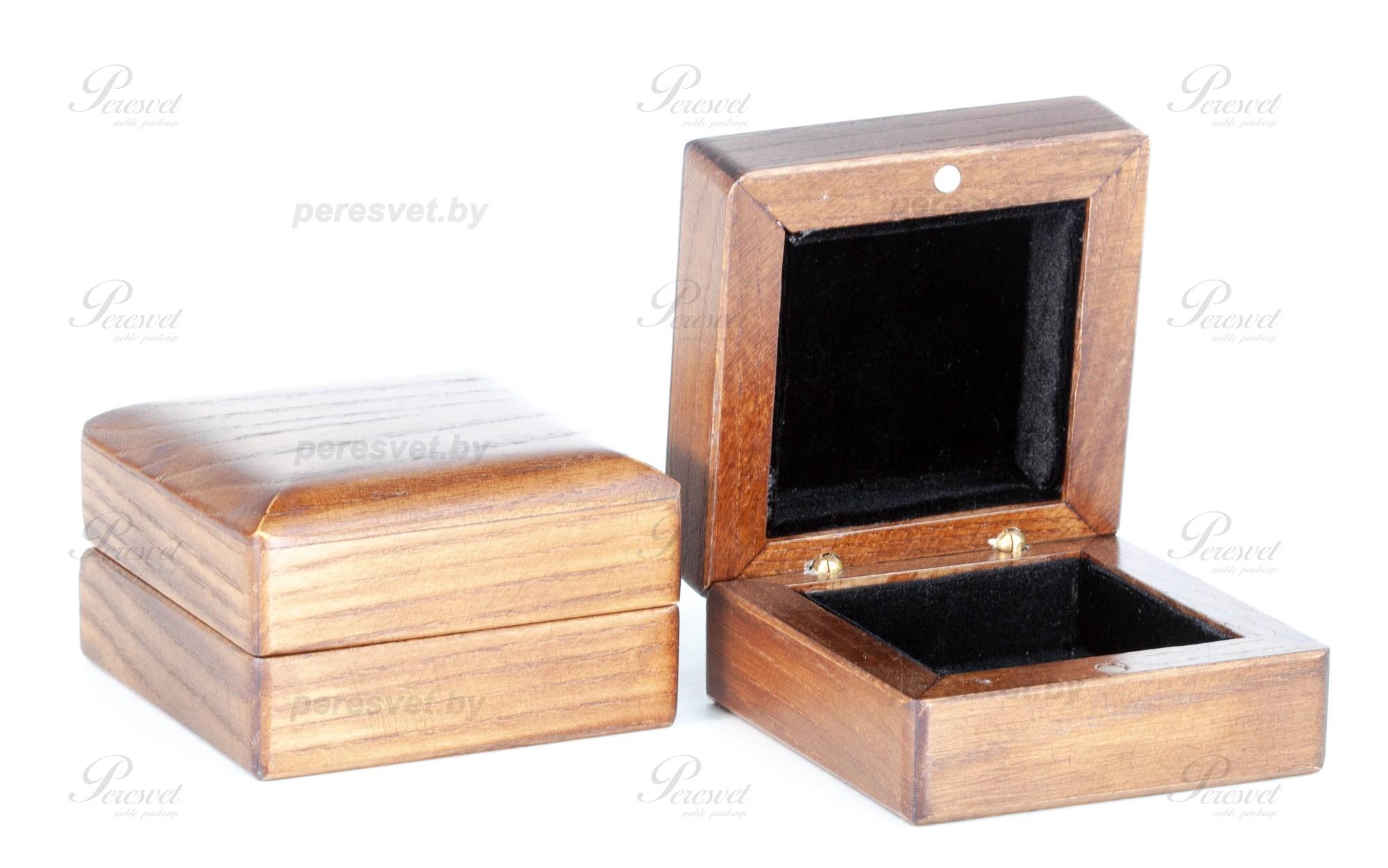 Премиальная дубовая коробка под ювелирное украшение на peresvet.by