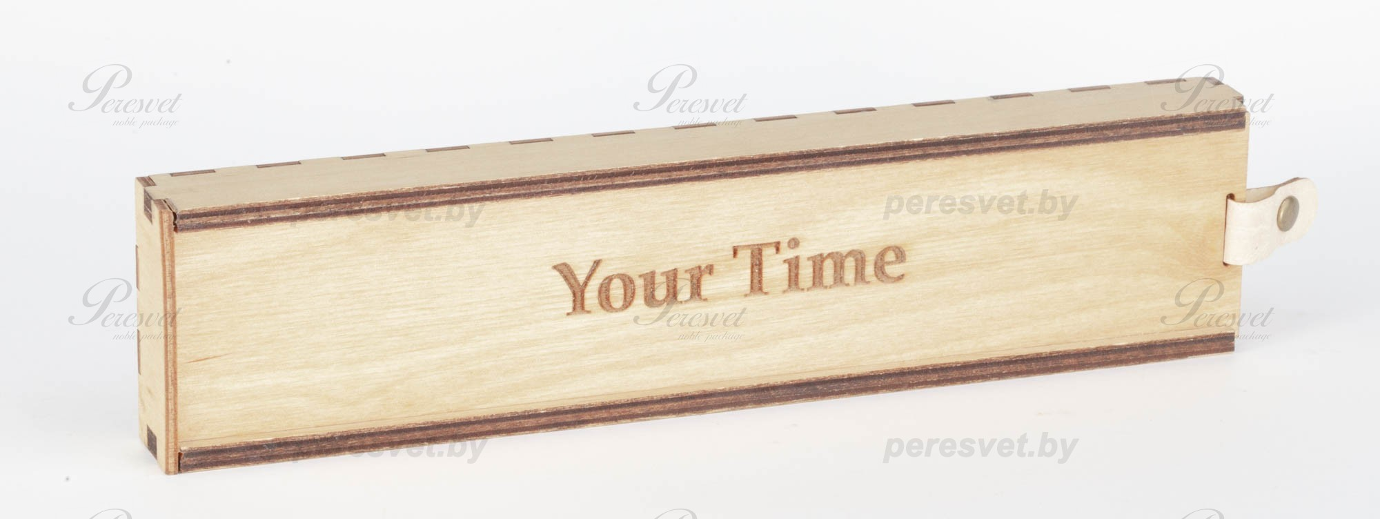 Деревянный пенал для хранения письменных принадлежностей на peresvet.by