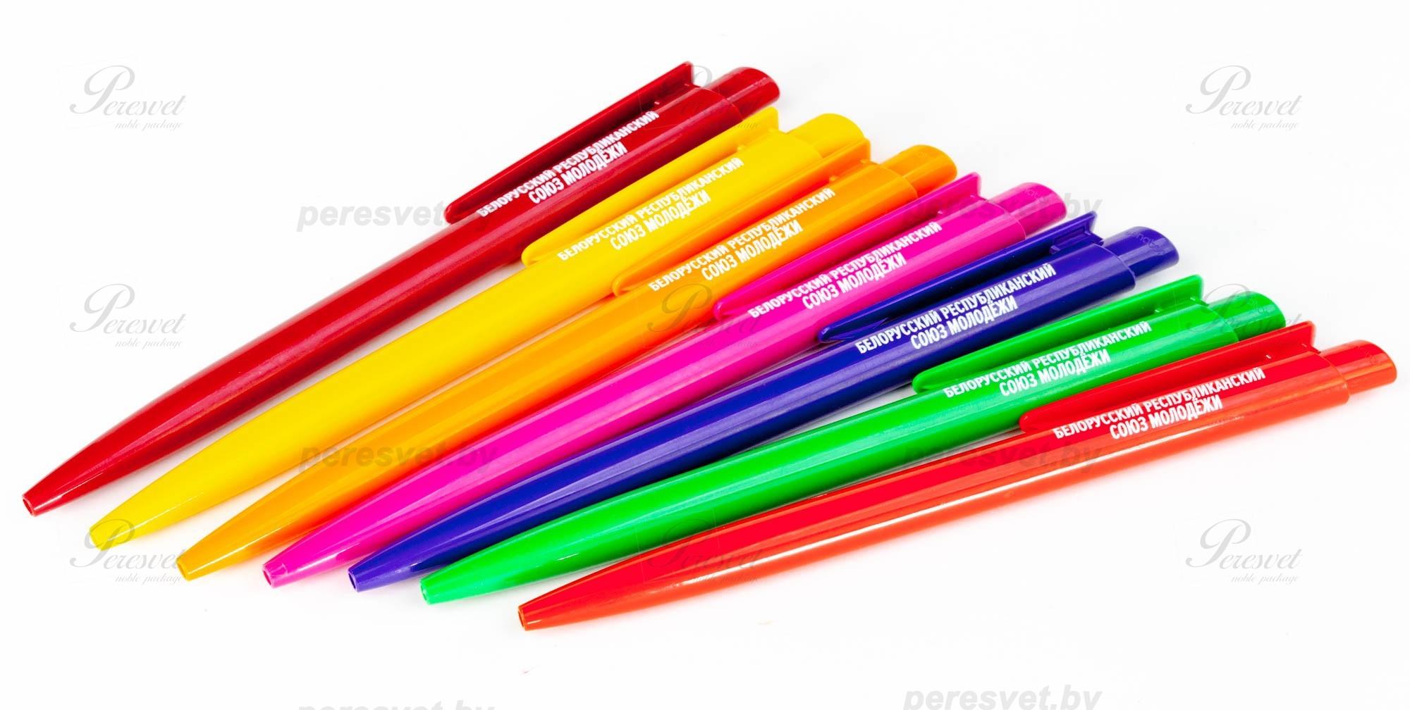 Шариковая ручка с нанесением логотипа на peresvet.by