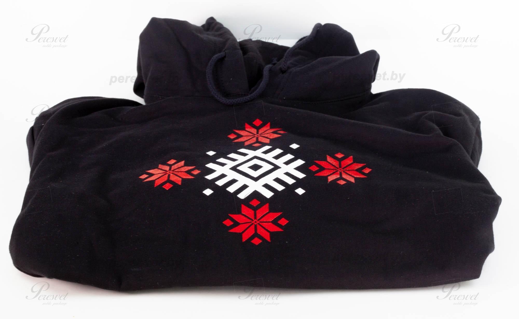 Нанесение логотипа на байку с капюшоном шелкографией на peresvet.by