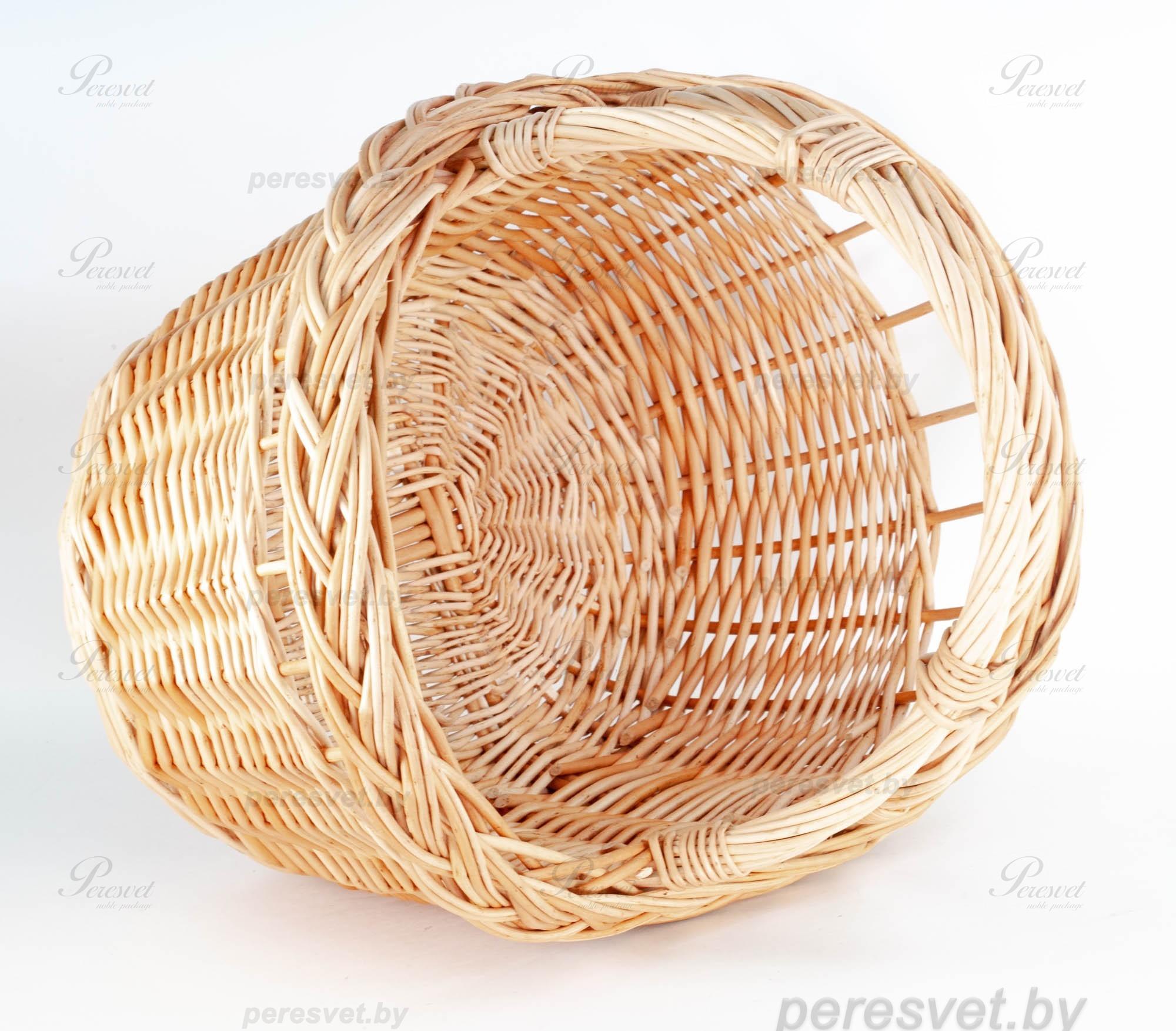 Корзина Семейный пикник плетенная из лозы на perevet.by