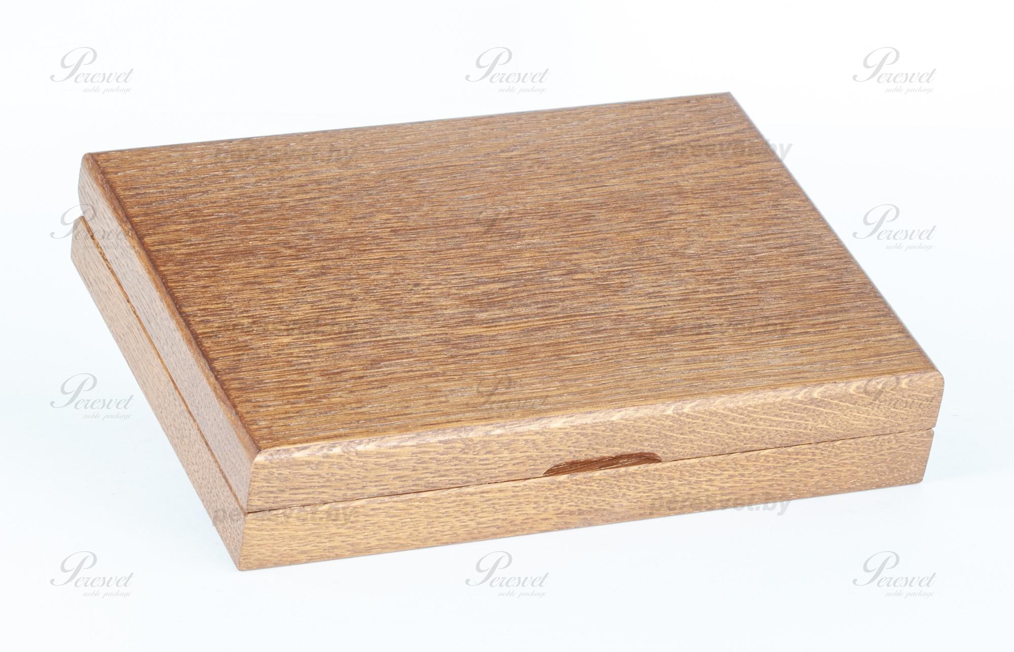 Дубовая коробка Рыболов для снастей на peresvet.by