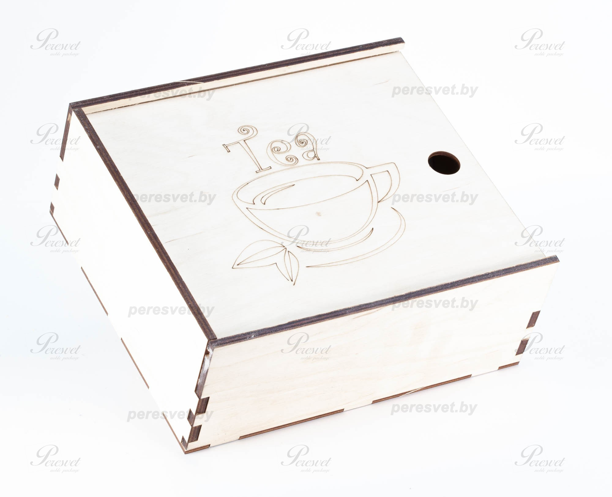 Чайная коробка пенал с гравировкой на 9 отделений на peresvet.by