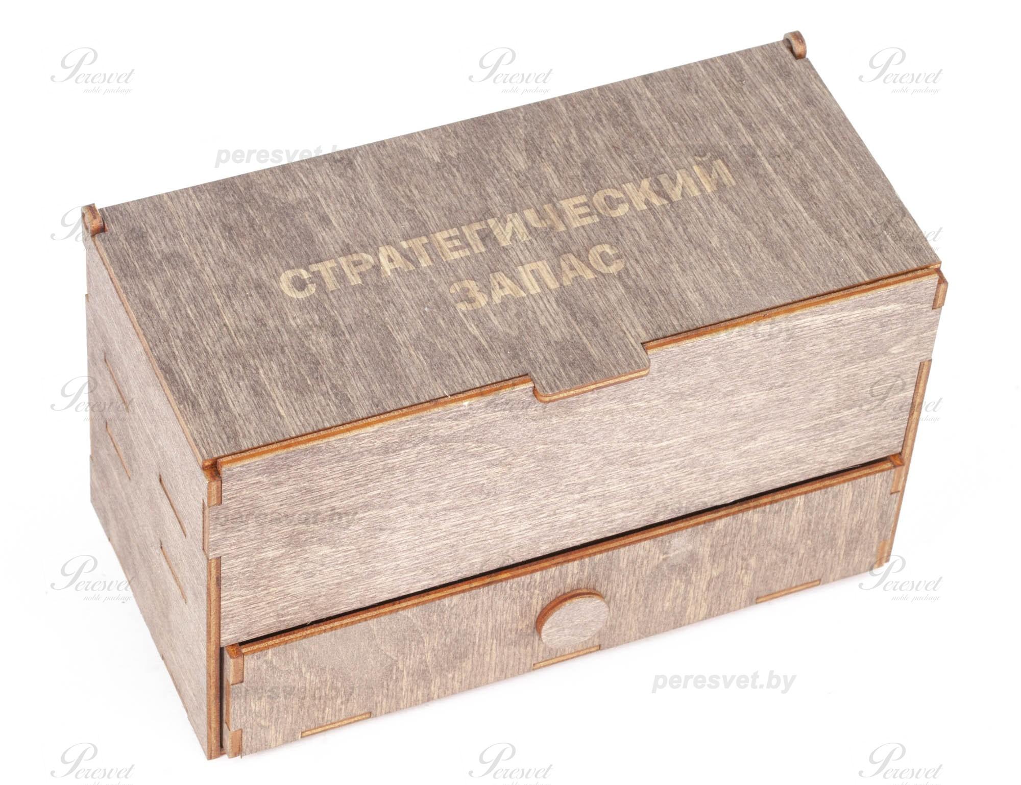 Подарочный набор для мужчин Стратегический запас №2-4 с элементами бронзы на peresvet.by
