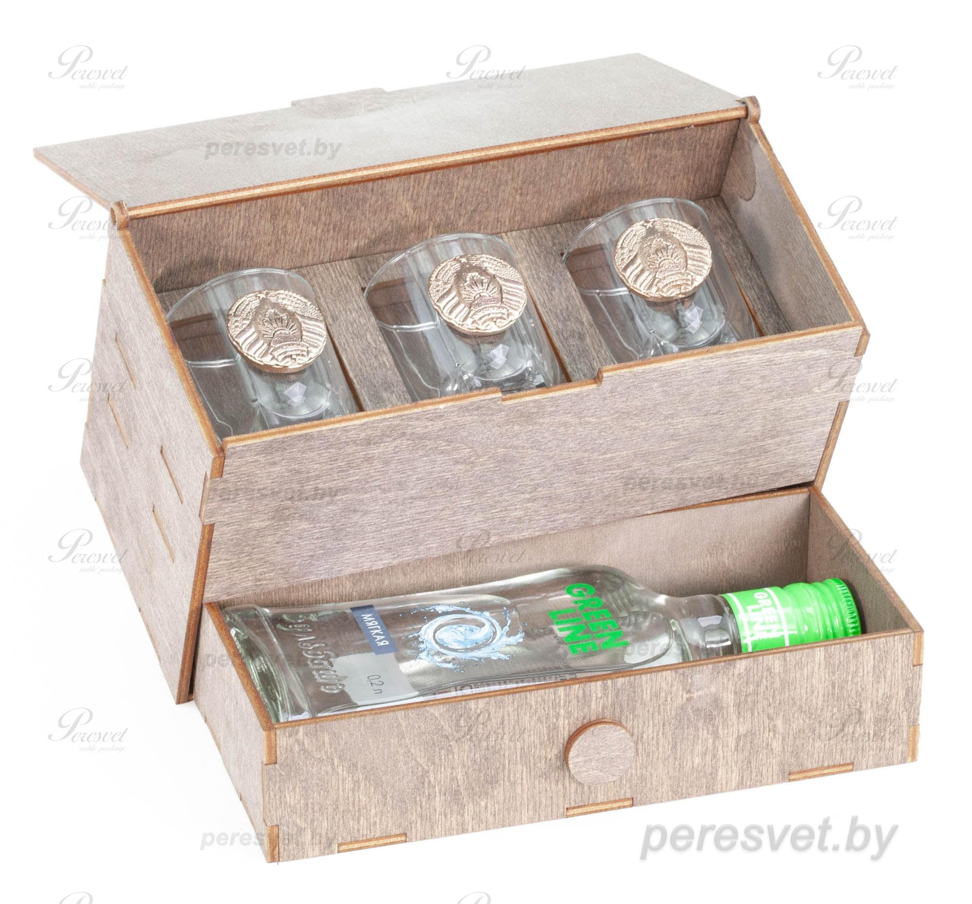 Подарочный набор для мужчин Стратегический запас №2-6 с элементами бронзы на peresvet.by