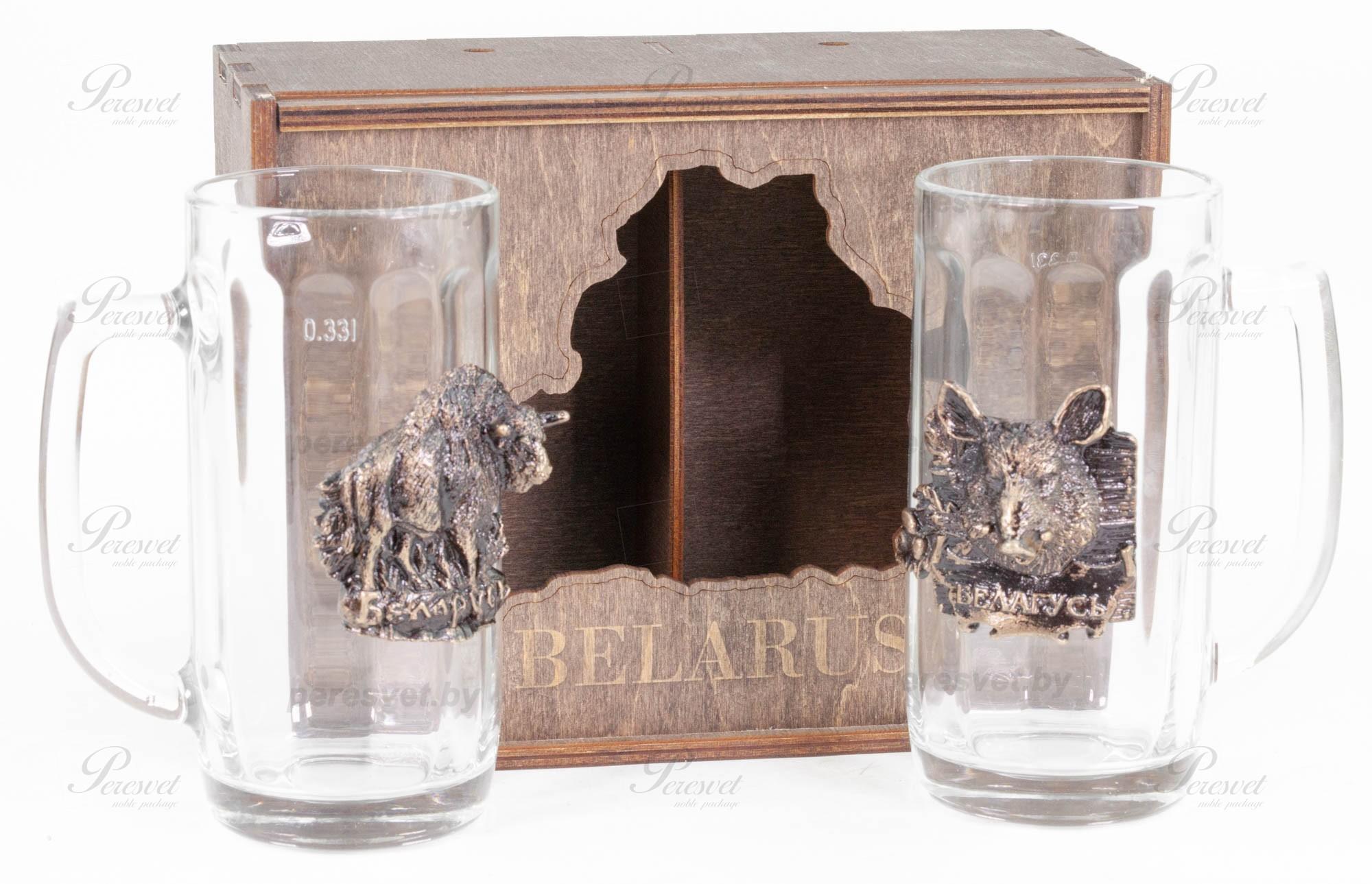 Набор подарочный Beer Premium художественное литье бронзы на peresvet.by