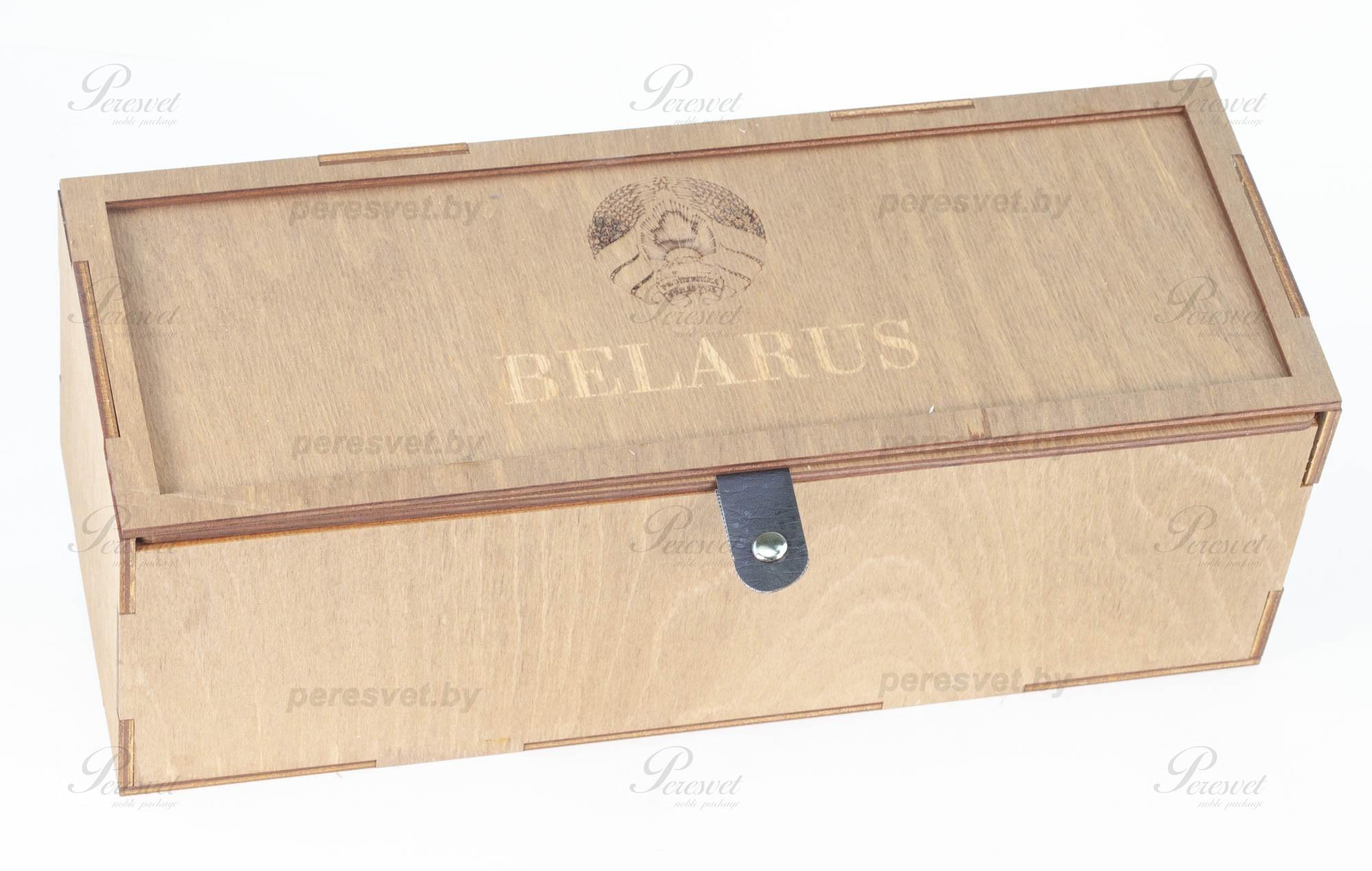 Набор подарочный Белорусский с бронзовыми гербами на peresvet.by