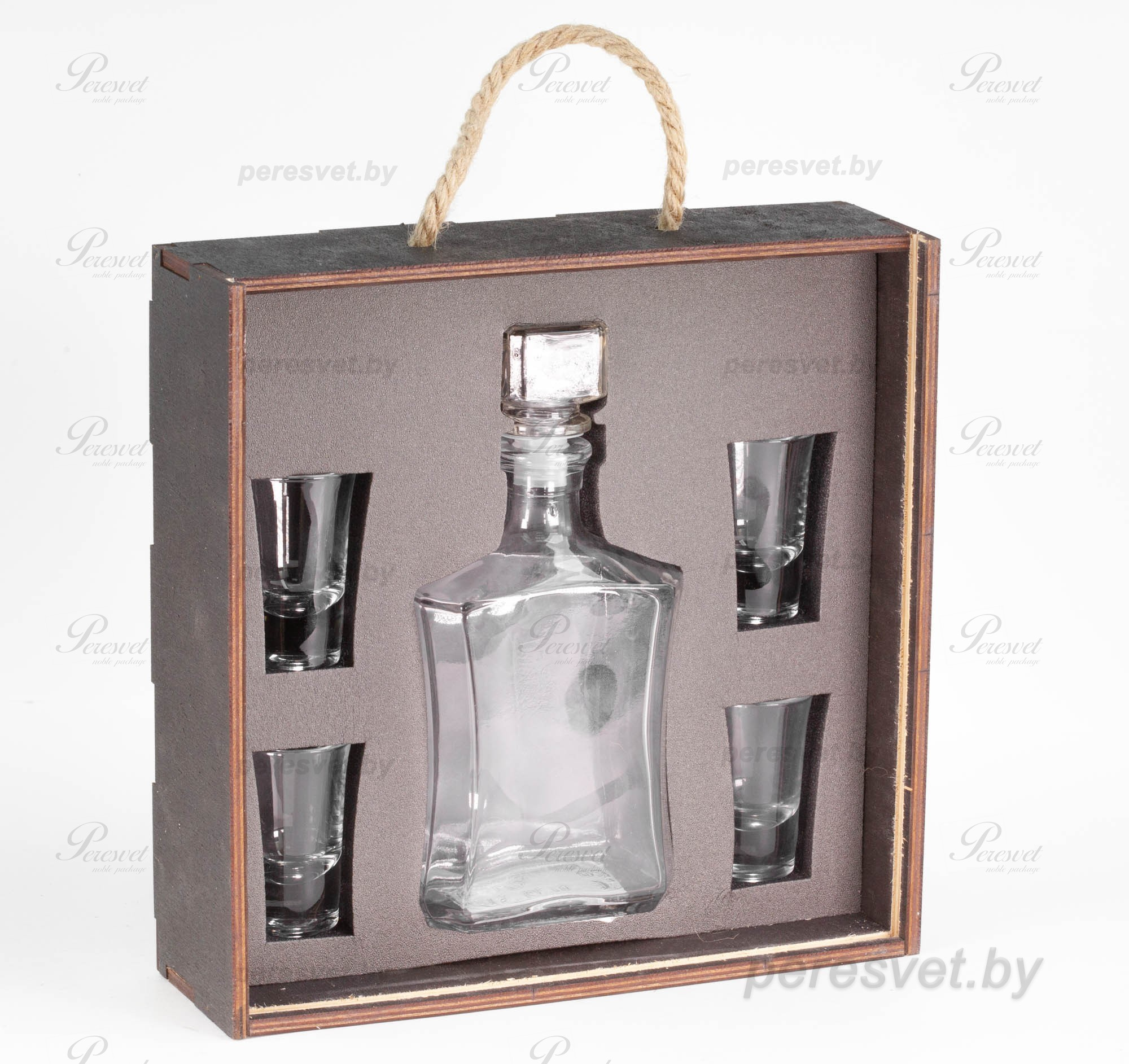 Подарочный набор Anti-ТесТер в деревянной упаковке с ложементом на peresvet.by