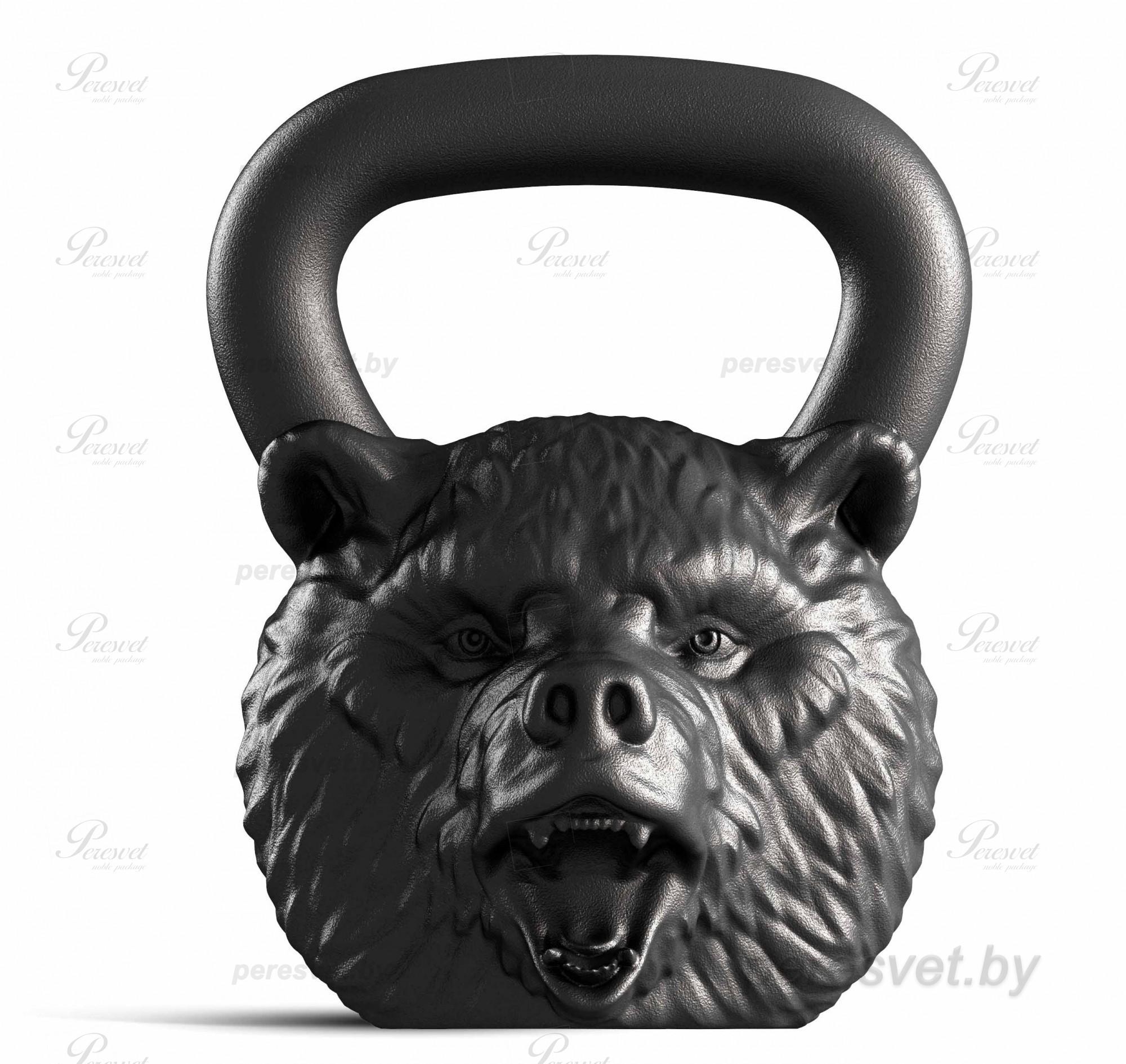 Гиря Iron Head Медведь 24кг на peresvet.by