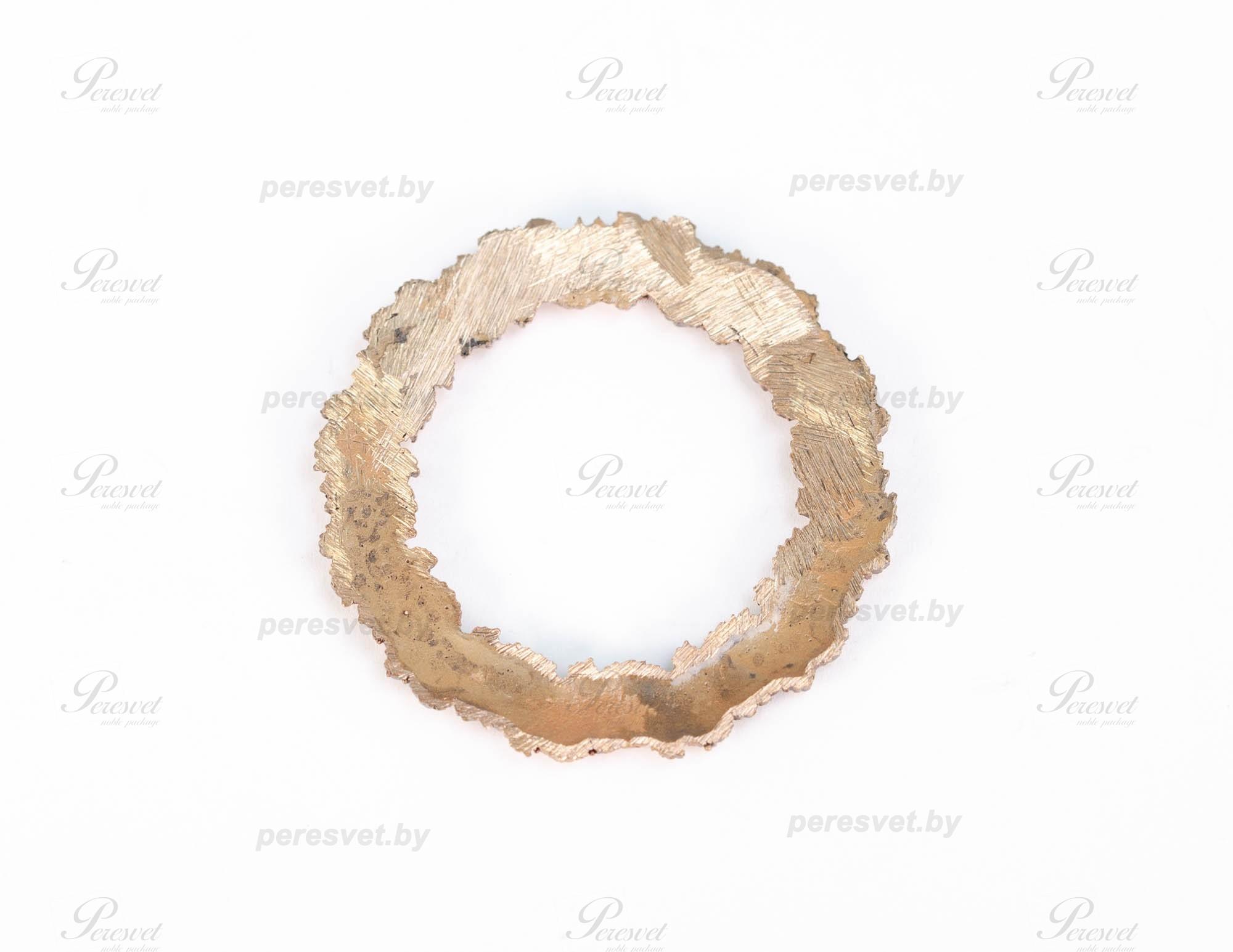Рамка круглая художественное литье из бронзы на peresvet.by